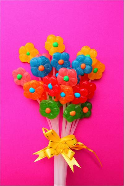 Flower Lollipop Candy